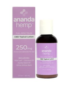 Ananda Hemp Full Spectrum Lotion 250mg